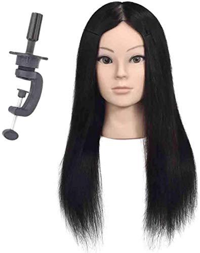 Mannequins de couture reglable Tête de Femme Tête Mannequin Modèle Enseignant Chef Barber Shop Tressage Cheveux Dyeing Apprentissage Dummy Head Porte vêtement Mannequin