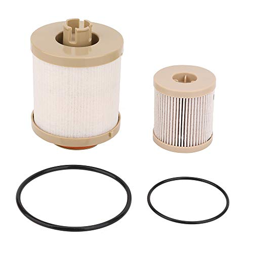 FD4616 Diesel Fuel Filter For 03-07 Ford F250 F350 F450 F550 Super Duty 03-05 Ford Excursion 6.0L Powerstroke - Replace 3C3Z9N184CB 3C349N074BA 3C3Z9N184CA - Upper Fuel Bowl Lower Lifter Pump Filter
