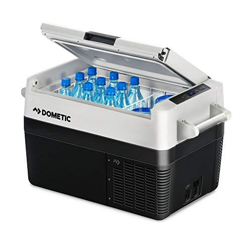 DOMETIC CFF 35 Nevera y congelador de compresor portátil, 30 l, con una capacidad de refrigeración de +10°C a -18°C para coche, camión, barco y autocaravana