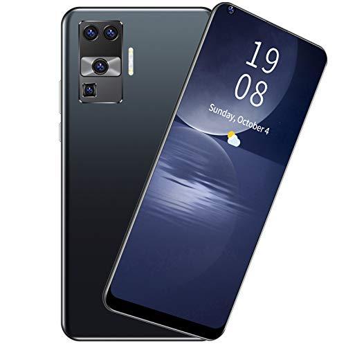 Yisenda Teléfono Inteligente, teléfonos móviles Dual SIM X66 2 + 16GB 3G GSM4 para Android 8.1 para Viajes para la Familia(Black)