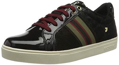 Gioseppo 56722, Zapatillas para Mujer, Negro (Negro Negro), 39 EU
