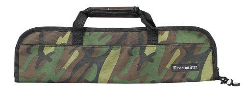Messermeister Gepolsterte Messerrolle mit 8 Taschen, Pflaume 5-Pocket camouflage
