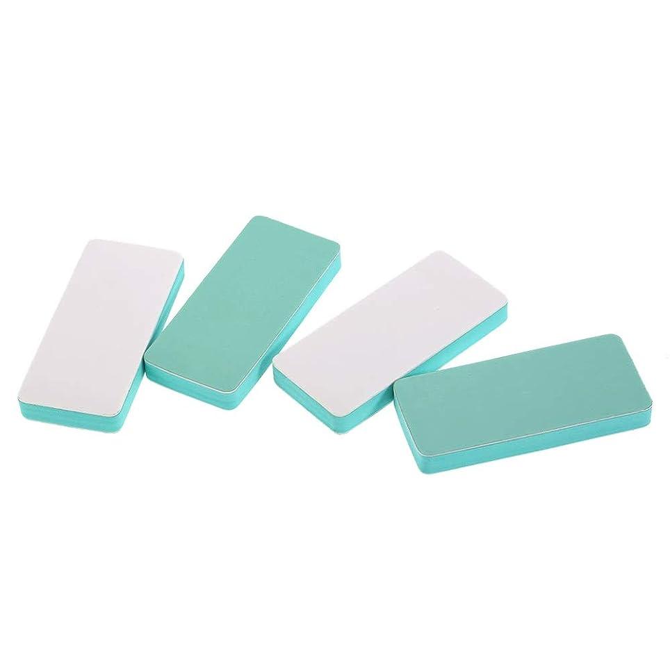 名門第三歯痛ネイルファイル ヒントツール ブロックバッファー ネイルシャイン ネイルケア マニキュア 男女兼用 4ピース
