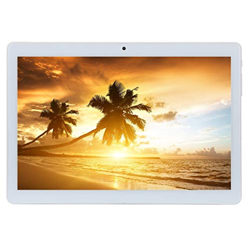 Tablets Android 9.0 OS Tablet 10 Inches 3G WiFi Unlocked Tablet with Dual SIM Card Slots 4GB RAM 64GB ROM Quad Core Processor Support Netflix Youtube Bluetooth Phone Call GPS FM