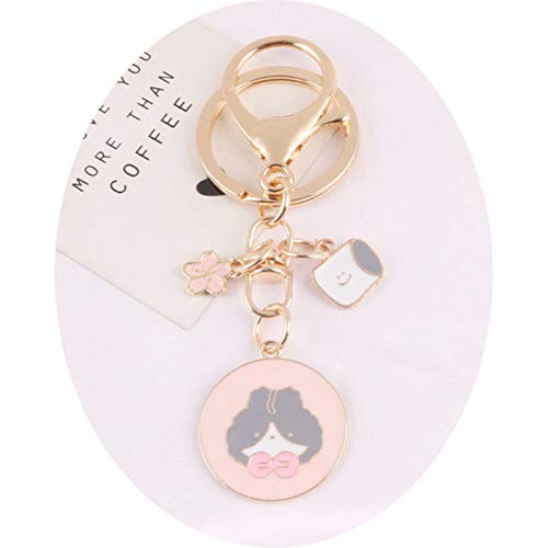 Earphone Case Cute Cat Keychain Pendant AirPods 2 for xiaomi AirDots Huawei freebuds Wireless Bluetooth Bag Keyring Accessories