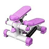 DODOBD Mini Stepper, Twister Stepper con Cuerdas de Potencia, Dispositivos de Fitness Ajustables, Escalones con Pantalla LCD, Aparato de Entrenamiento de Fitness para Interiores