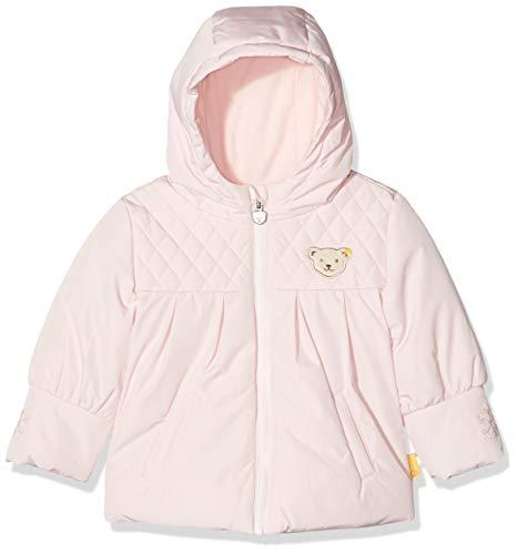 Steiff Jacke Blouson, Rose (Barely Pink 2560), 95 (Taille Fabricant: 80) Bébé Fille