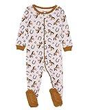 Leveret Kids Pajamas Baby Boys Girls Footed Pajamas Sleeper 100% Cotton (Horse, Size 5 Toddler)