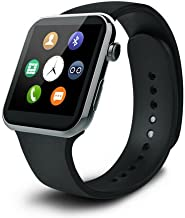 Best to BuyMany Health Care funcation New Smartwatch A9 Bluetooth Smart Watch for Apple iPhone & Samsung Android Phone relogio inteligente reloj Smartphone Watch (Gun)