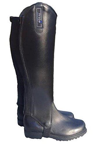 Tysons Breeches 3 XL Stiefelschaft Stiefelschäfte EXTRA weit XXXL Leder Weite ca. 45-50 40 cm Chaps Übergröße