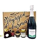 Coffret Champagne AOC et produits francais bio, 75cl, Direct Productrices, Cadeau - Colis Gourmand