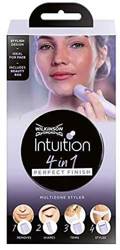 Intuition 4in1 Perfect Finish Elektrischer Damen Trimmer Für Körper, Bikinizone, Gesichtshaare und Augenbrauen