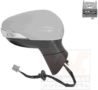 Carcasa para espejo retrovisor izquierdo compatible con Fiesta B-Max 2008 en adelante OEM 1594546 8A6117K747BEXX 8A6117K747CA