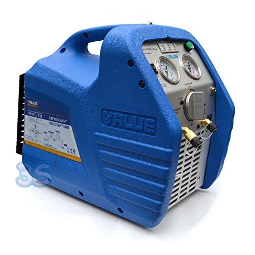 Unità di recupero mini recuperatore gas refrigerante - 3/4 HP con separatore dell'olio idoneo anche per gas R32