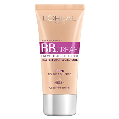 Loreal Bb Cream 5 Em 1 Com Fps 20 Media 30Ml