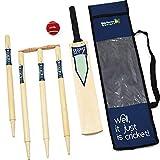 Big Game Hunters 530 Size 3 Junior Wooden Cricket Set, 3