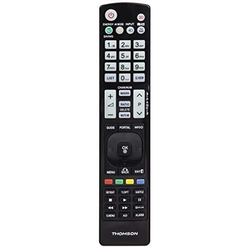THOMSON roc1117lg IR Wireless-Schwarze Fernbedienung–IR-Fernbedienung (TV, LG, Wireless, Kunststoff schwarz, Tasten)