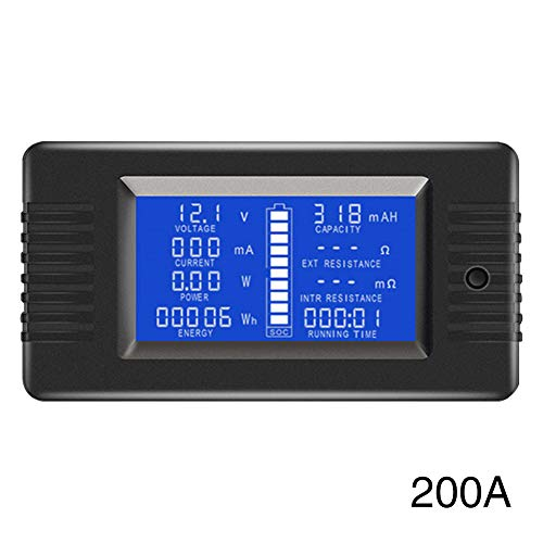 Read About Kathleen0 Battery Tester Monitor 0-200V Resistance Voltmeter Solar LD Display sy Install ...