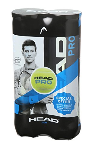 Head PRO - Palline da Tennis, Unisex, 571721, Yellow, Taglia Unica