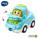 VTech- Pilar Coche Familiar TutTut Bólidos Vehículo interactivo con voz, música y efectos de sonido, incluye botón sorpresa, Multicolor (80-514122) , color/modelo surtido