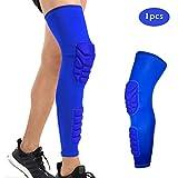 Peahop Basketball Knie Ärmel, Stoßdämpfung Erwachsene Fußball Knieschützer Unterstützung Beinmanschette für Eislaufen Radfahren