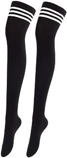 Women Extra Long Thigh High Socks Cotton Over the Knee Socks