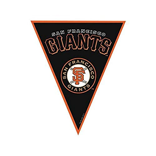 'San Francisco Giants Major League Baseball Collection' Pennant Banner, Party Decoration