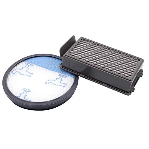 vhbw Set de 2 filtros aspiradora para Rowenta RO3718EA, RO3724EA, RO3731EA, RO3753EA, RO3786EA, RO3798EA Aspirador hepa, filtro de aire de escape.