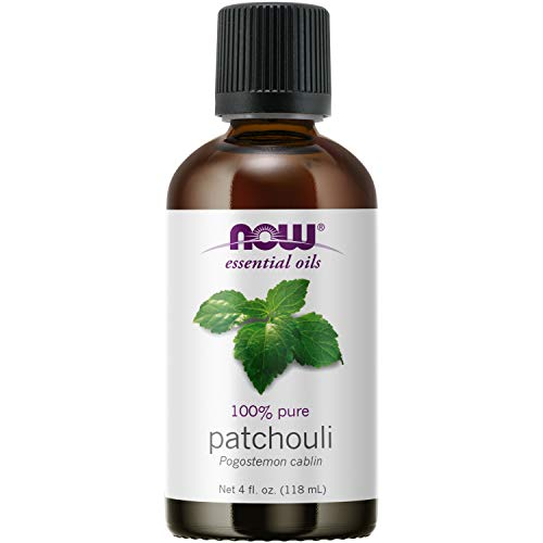 NOW Essential Oils, Patchouli Oil, Earthy Aromatherapy Scent, Steam Distilled, 100% Pure, Vegan, Child Resistant Cap, 4-Ounce
