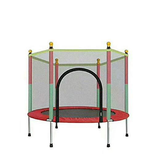 LSYOA trampoline voor volwassenen en kinderen, rond, met veiligheidsnet voor kinderen vanaf 3 jaar en volwassenen