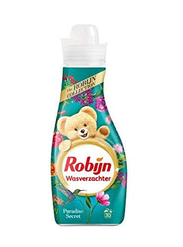 Robijn Intense wasverzachters, 4 stuks, Paradise Secret, 30 wasgoed, 750 ml