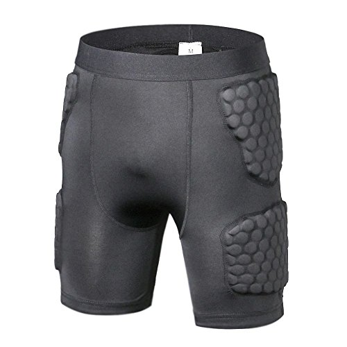 Body Safe Garde Rembourr¨¦ Compression Sports Shorts de Prot
