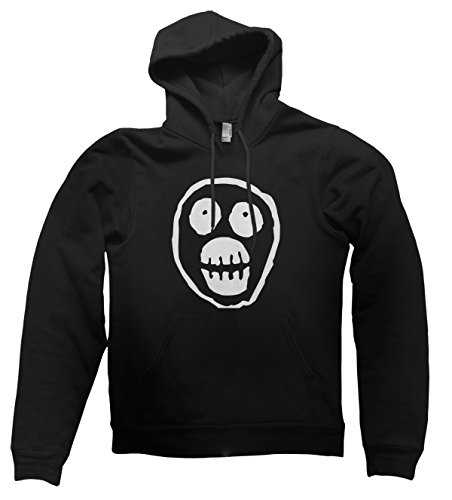 Clique Clothing The Mighty Boosh Face Hoodie (Black, L)