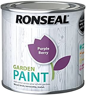 Ronseal - Garden Paint Purple Berry 250ml