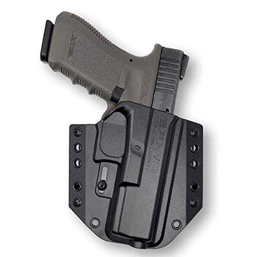 Holster for Glock 17 22 31 (Gen 5 4 3) - OWB Holster for Concealed Carry / Custom fit to Your Gun - Bravo Concealment