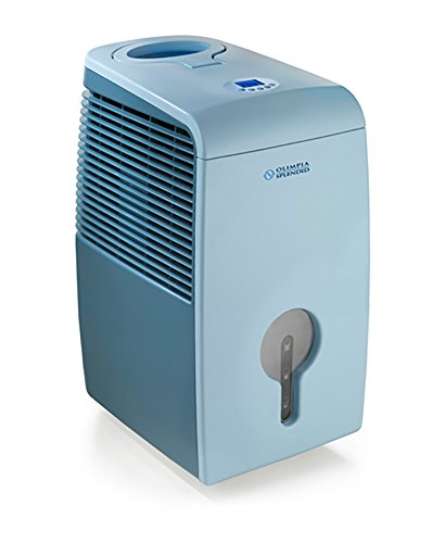 Olimpia Splendid 01086 Aquaria Thermo Deumidificatore, Capacità 22 litri/24h, Azzurro/Blu