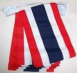 9m 32Flagge Thailand Thai Material Wimpelkette