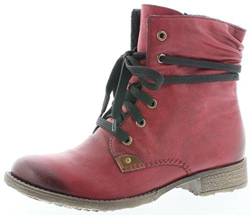 Rieker Damen L4691 Warm gefttert Classics Kurzschaft Stiefel