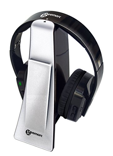 Geemarc CL7400 HIGHLY AMPLIFIED Wireless Digital Headset and TV Listener...