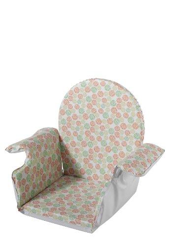 Schardt Réducteur de Taille avec Accoudoir Bubbles Green pour Chaise Haute