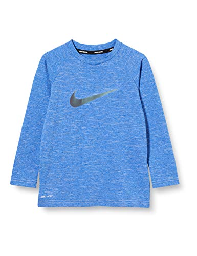 NIKE Long Sleeve Hydrogua Camiseta De Manga Larga, Niños, Game Royal, S