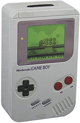 Nintendo Game Boy Classic Unisex Spardose grau Metall Fan-Merch, Gaming