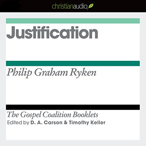 Justification audiobook cover art