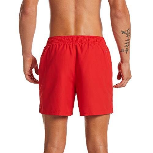 NIKE 5 Volley Short Bañador, Hombre, University Red, M