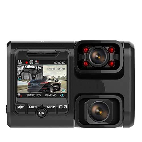 Dual Lens Car DVR HD Night Vision Dash Cam Car Dash Camera Recorder 4k 2160p WiFi GPS Panorama A 360 Gradi con Funzione Adas