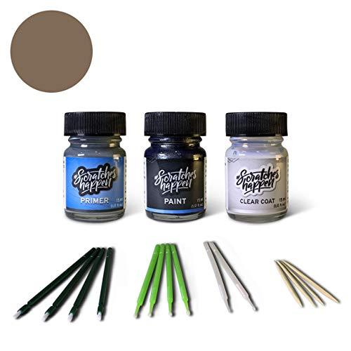 ScratchesHappen Exact-Match Touch Up Paint Kit Compatibel met Infiniti Champagne Quartz/Light Beige (HAG) Preferred