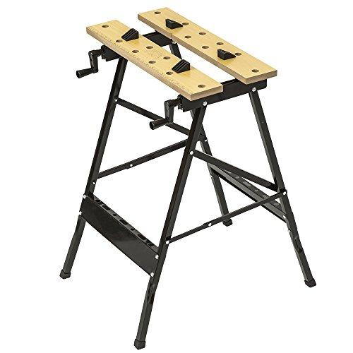 tectake Spanntisch klappbar Werkbank Werktisch Werkzeugbank Werkplatte