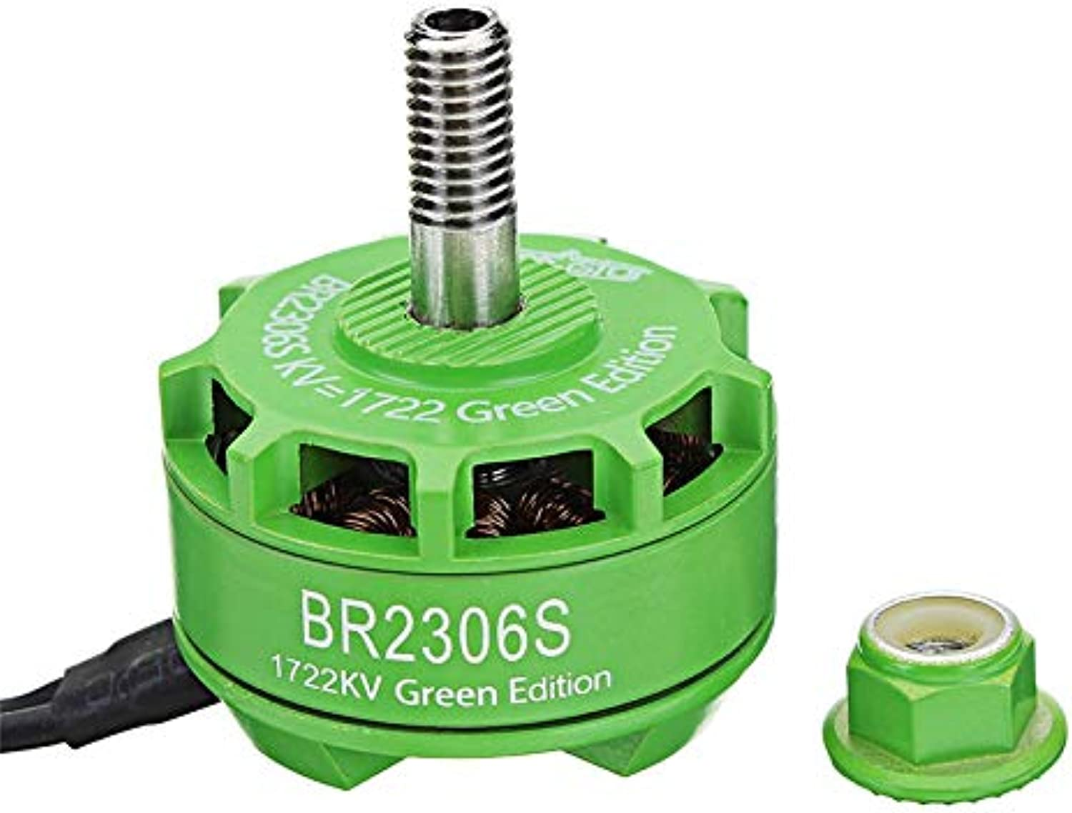 Generic Racerstar 2306 BR2306S Green Edition 1722KV Brushless Motor 46S for RC Drone FPV Racing Multi redor Accs
