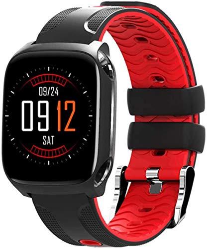 JSL Smart Recordatorio Bluetooth Fitness Tracker Deportes Frecuencia Cardíaca y Presión Arterial Monitoreo Impermeable Reloj de Salud Compatible con Android e IOS