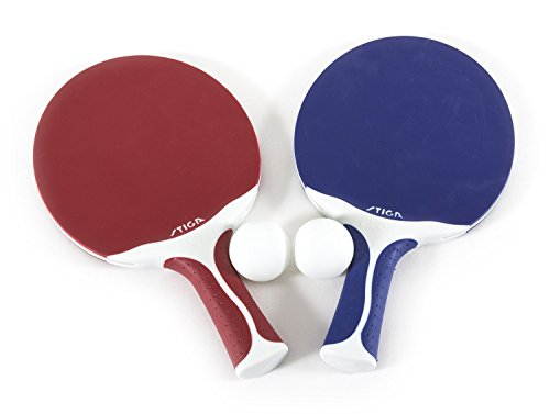 STIGA Flow Outdoor 2Player Table Tennis Set Includes Two Outdoor Rackets and Two Outdoor Balls
